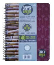 Onyx & Green 1 Subject Notebook