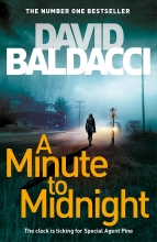 DAVID BALDACCI , MINUTE TO MIDNIGHT