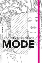 Leporello Ausmalbuch Mode