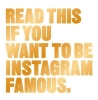 Carroll Henry, Read This if You Want to Be Instagram Famous