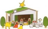 <b>Dick  Bruna</b>,houten kerststal