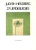 Judith Herzberg, 27 Liefdesliedjes