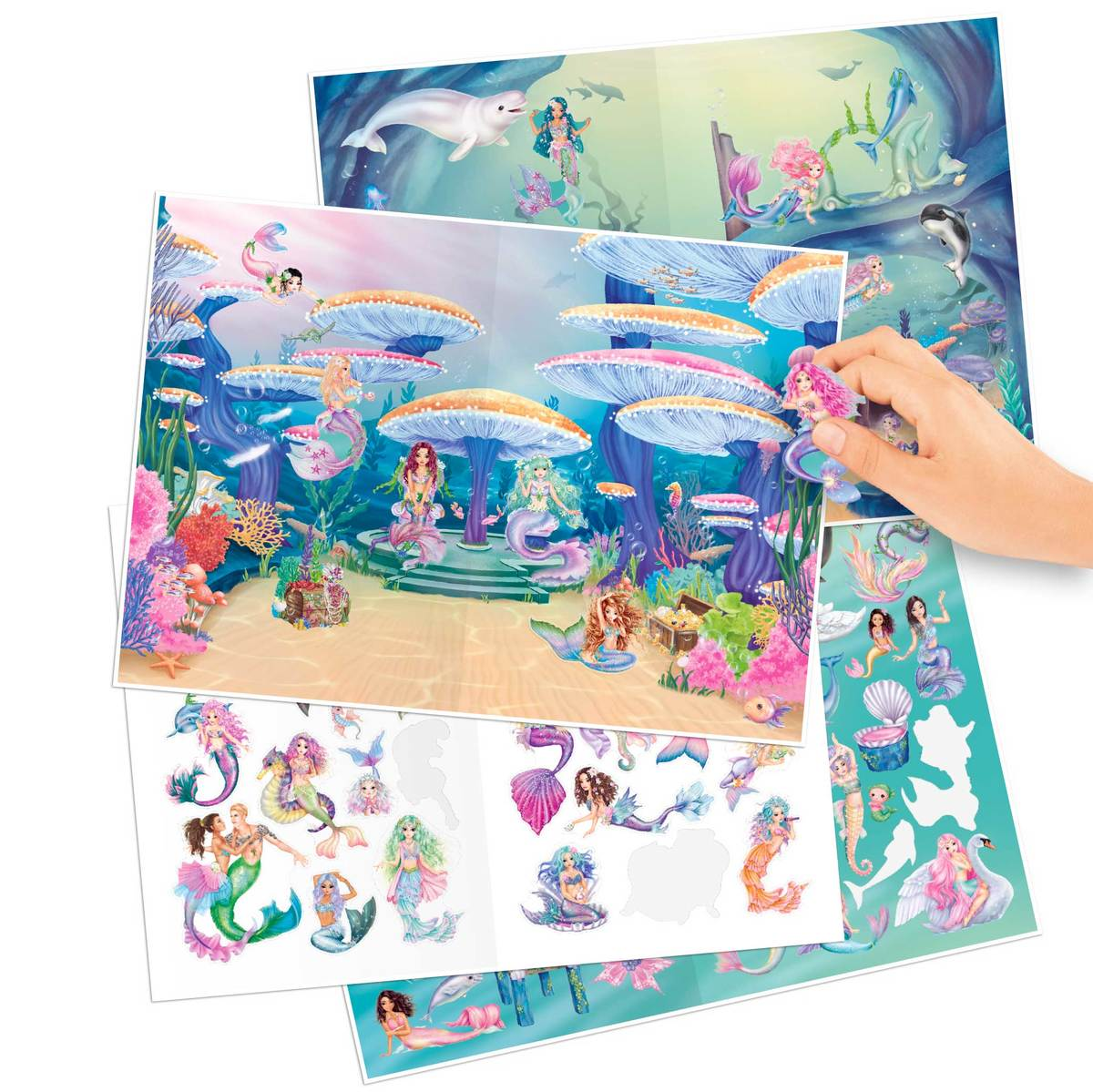 ,Fantasy model mermaid stickerworld - 149 stickers