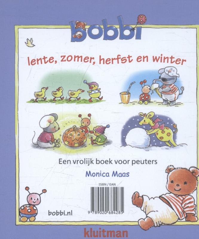 Monica Maas,Lente, zomer, herfst en winter