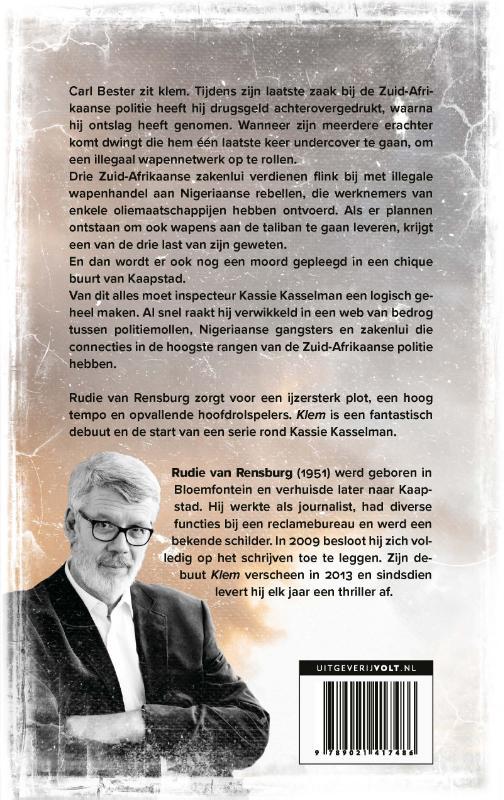 Rudie van Rensburg,Klem