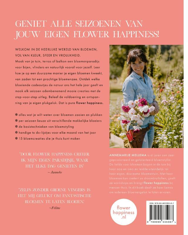 Annemarije Mellema,Flower Happiness
