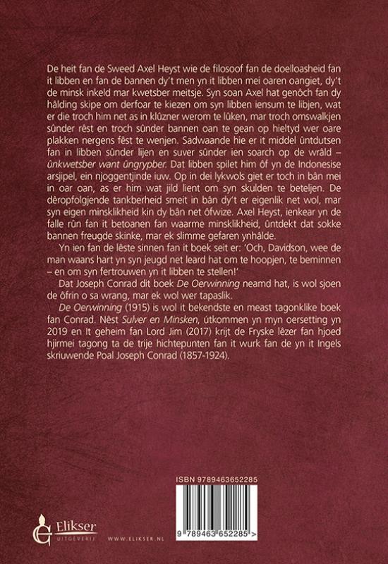 Joseph Conrad,De Oerwinning