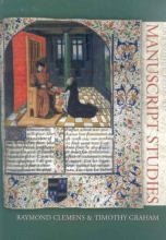 Clemens, Raymond Introduction to Manuscript Studies