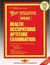 Rudman, Jack Health Occupations Aptitude Examination (Hoae)