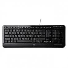 , Toetsenbord HP QWERTY USB zwart