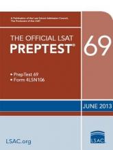 Law School Admission Council The Official LSAT Preptest 69