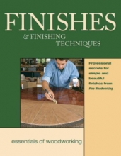 Fine Woodworking Finishes and Finishing Techniques