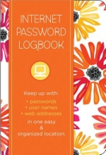 Internet Password Logbook - Botanical Edition