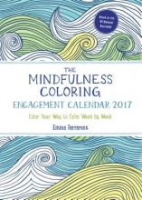 Mindfulness Coloring Engagement Calendar 2017
