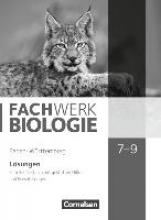 Dörflinger, Ulrike,   Hampl, Udo,   Kunst, Isabelle,   Marquarth, Andreas Fachwerk Biologie 7.-9. Schuljahr - Baden-Württemberg - Lösungen zum Schülerbuch