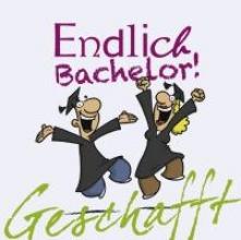 Kernbach, Michael Geschafft! Endlich Bachelor!