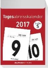 ALPHA EDITION Tagesabreikalender S 2017 (4 x 6 cm)