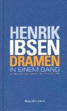Ibsen, Henrik Dramen in einem Band