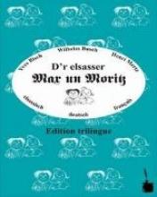 Busch, Wilhelm D`r elsassische Max un Moritz