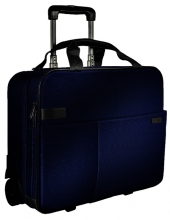 , Carry-On Trolley Leitz Complete Smart Blauw
