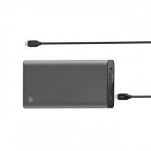 , Powerbank Hama USB-C 26.800 mAh 5-20V/60W zwart