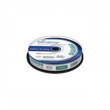 , DVD+R MediaRange DL 8.5GB inkjet printable, 10 stuks