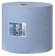 , Poetsrol Tork W1 130052 2laags 23,5cmx255m 2rollen blauw