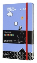 , Moleskine LE Notitieboek Super Mario Notebook Large (13x21 cm) Gelinieerd Full Game