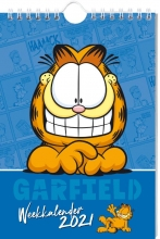 , WEEKKALENDER 2021 GARFIELD  - FSC MIX CREDIT