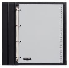 , Tabbladen Quantore 4-gaats 1-31 genummerd grijs PP