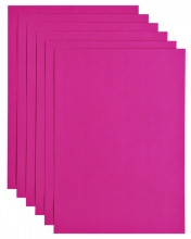 , Kopieerpapier Papicolor A4 200gr 6vel felroze