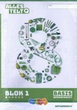 , Alles telt Q Antwoordschrift Basis blok 1 t/m 6 groep 8