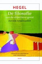 G.W.F.  Hegel De filosofie van de objectieve geest