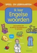 Ik leer Engelse woorden Speel- en leerkaarten
