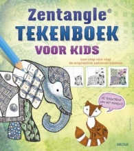 Jane  Marbaix Zentangle tekenboek voor kids