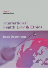 , Internional Health Law and Ethics