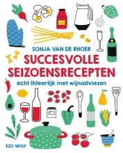 Sonja van de Rhoer , Succesvolle seizoensrecepten