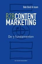 Bob Oord , B2B contentmarketing