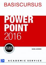 Jolanda Toet Saskia Jacobsen, Basiscursus Powerpoint 2016