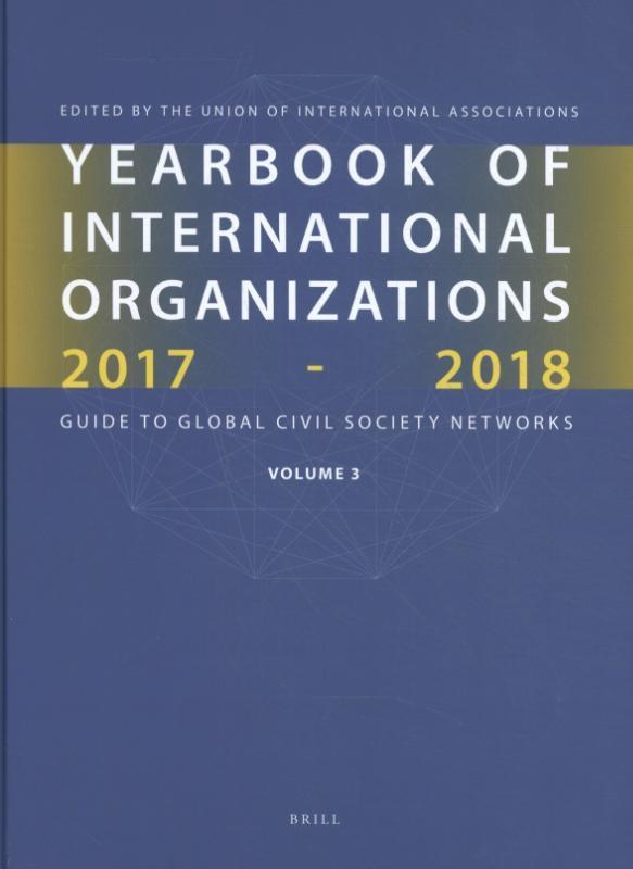 ,Yearbook of International Organizations 2017-2018, Volume 3