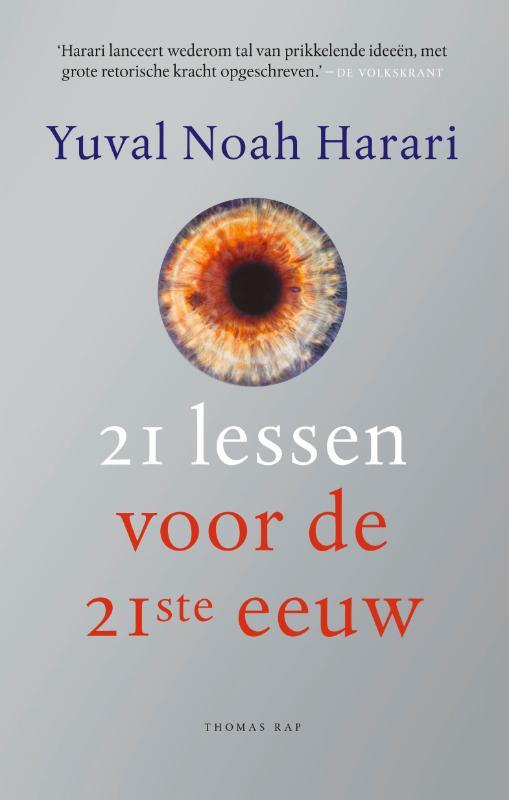 Yuval Noah Harari,21 lessen voor de 21ste eeuw