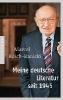 Reich-Ranicki, Marcel,Meine deutsche Literatur seit 1945