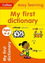 Collins Easy Learning My First Dictionary Ages 4-5