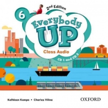 Jackson, Patrick Everybody Up 6. Class Audio CD