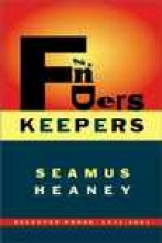 Heaney, Seamus Finders Keepers