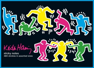 Galison Keith Haring Sticky Notes