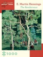 E. Martin Hennings the Rendezvous 1000-Piece Jigsaw Puzzle