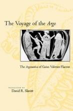 Slavitt, Seneca The Voyage of the Argo - The Argonautica of Gaius Valerius Flaccus