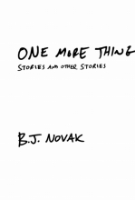 Novak, B. J. One More Thing