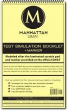 Manhattan Gmat Prep Manhattan GMAT Test Simulation Booklet